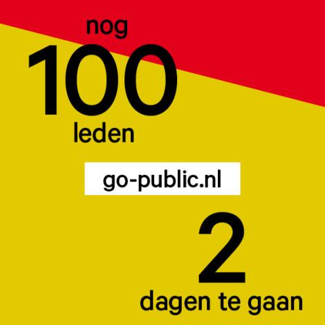 De Gouden Struis - We Are Public campagne