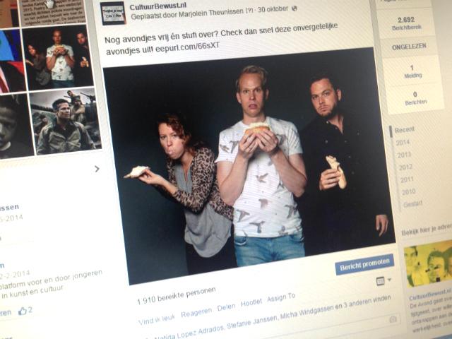 Marjolein Theunissen - Facebook update