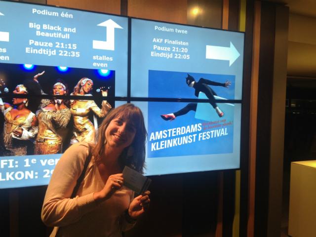 Marjolein Theunissen - Amsterdams Kleinkunst Festival