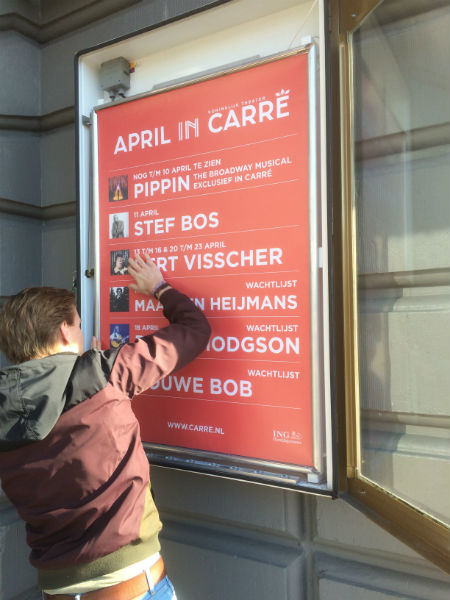carré poster pippin