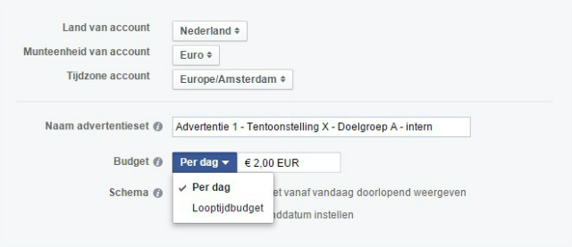 Adverteren op Facebook
