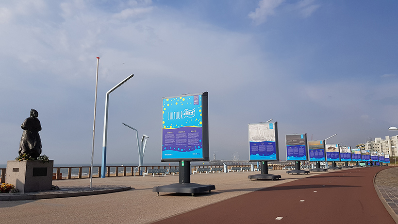 Boulevard, Scheveningen, buitententoonstelling, buitenexpotitie,