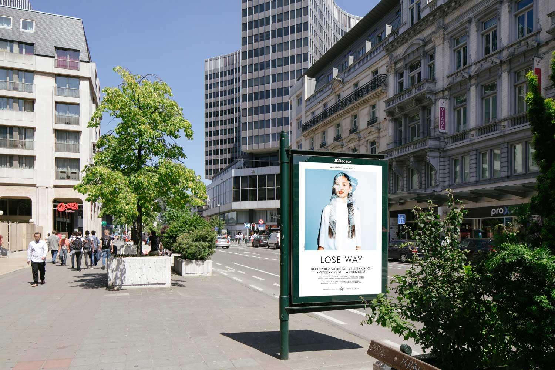 Case de Munt - Poster in de Stad
