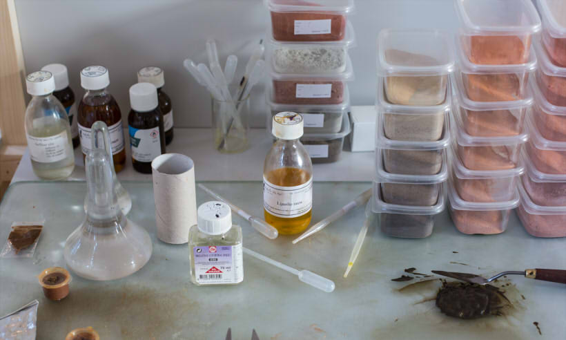 atelierNL zand kunst glas atelier