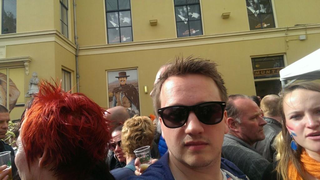 De Week van Daniël Lugtmeier - drukte op Koningsdag