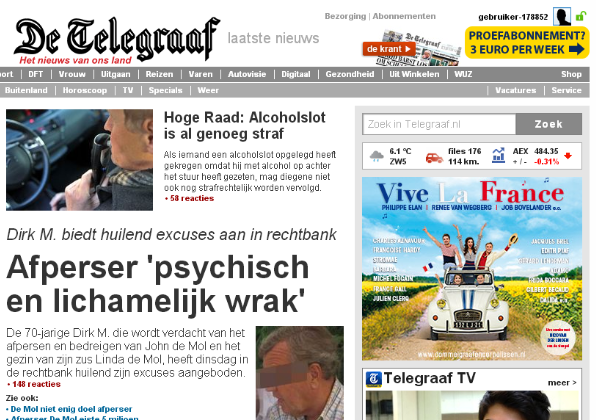 De week van Marcel van Zijl - De Telegraaf