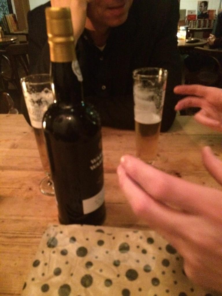 De week van Marcel van Zijl - bier en wijn