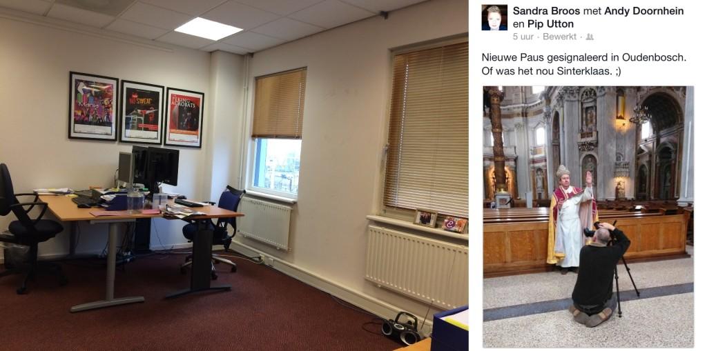 De week van Marcel van Zijl - leeg kantoor