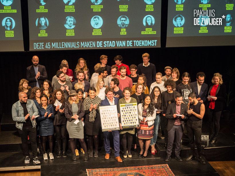 Lancering Nieuw Amsterdam Raad in Pakhuis de Zwijger