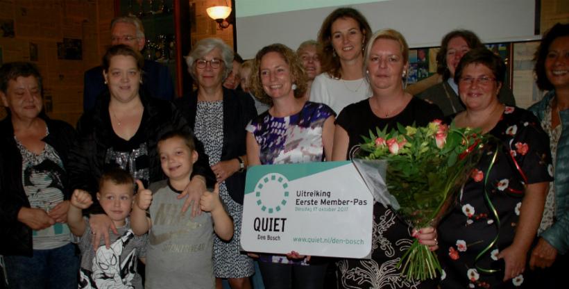 Lancering Quiet Community in Den Bosch