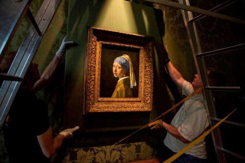 Vermeer Meisje met de parel Mauritshuis