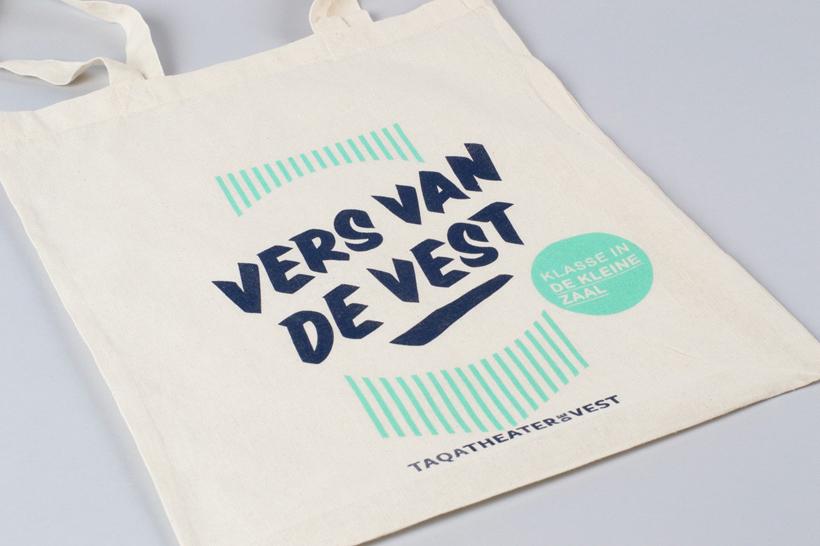 'Vers van De Vest'-tas