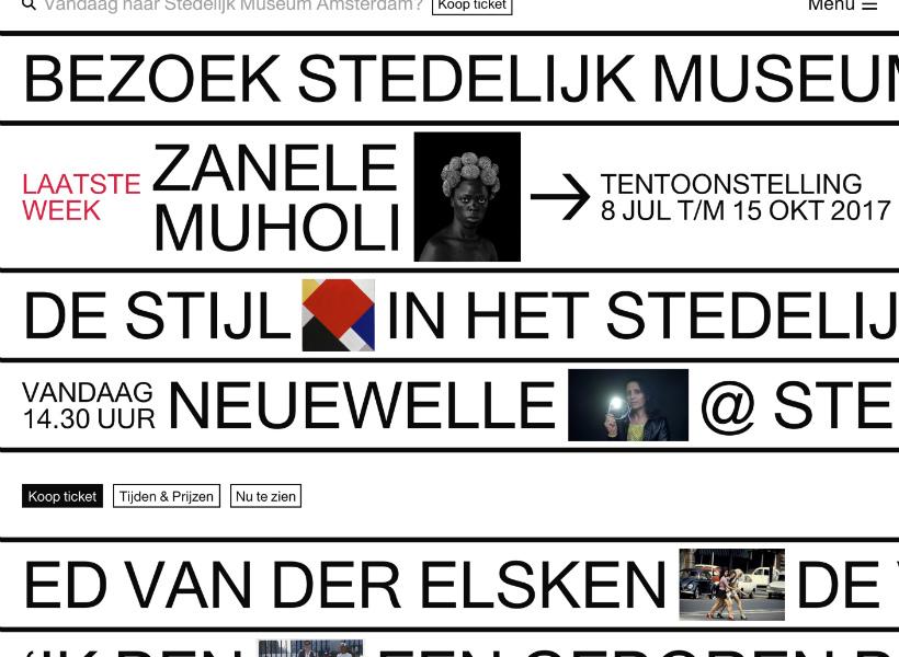 website Stedelijk