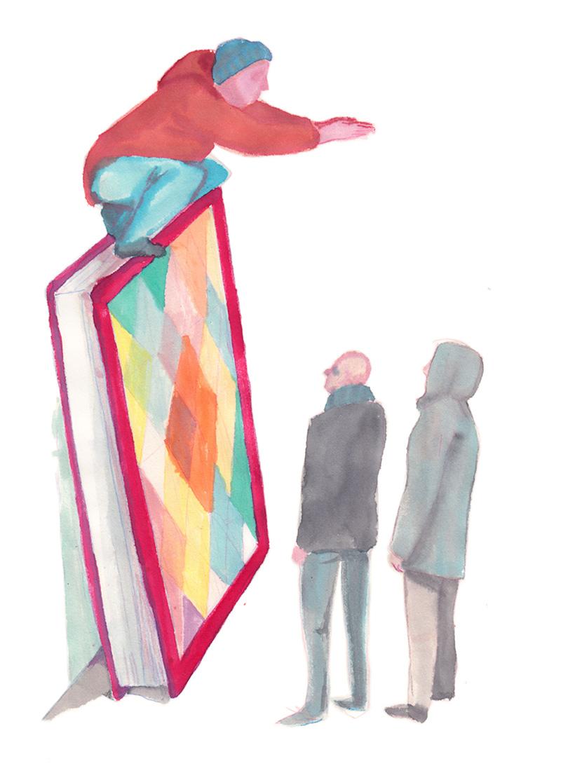 illustratie kracht van verbeelding Jeroen nissen